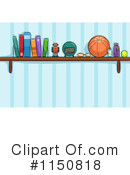 Royalty-Free (RF) Shelf Clipart Illustration #1150818