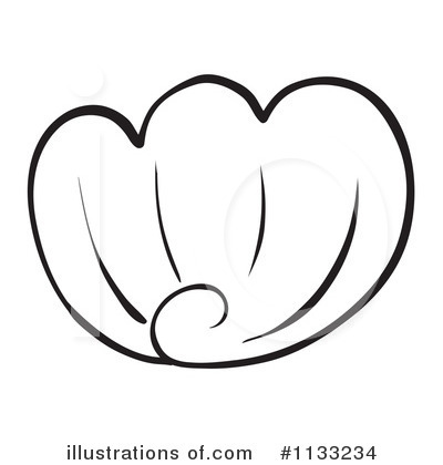 Seashell Clipart #1133234 by Graphics RF