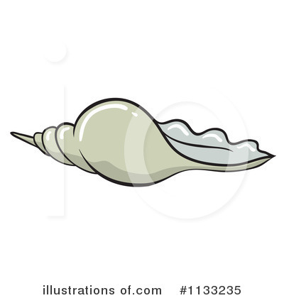 Seashell Clipart #1133235 by Graphics RF