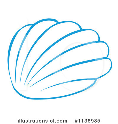 Seashell Clipart #1136985 by Graphics RF