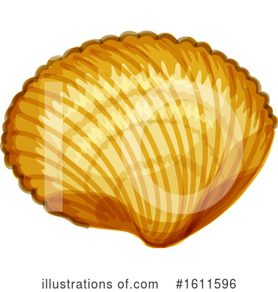 Seashell Clipart #1611596 by Vector Tradition SM