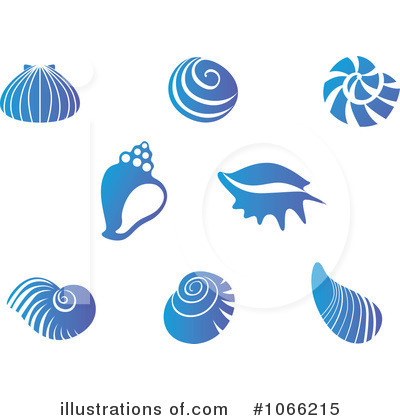 Sea Shells Clipart #1066215 by Vector Tradition SM