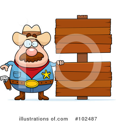 Cowboy Clipart #102487 by Cory Thoman