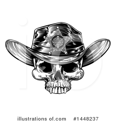 Cowboy Clipart #1448237 by AtStockIllustration