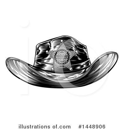 Cowboy Clipart #1448906 by AtStockIllustration