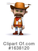 Sheriff Clipart #1638120 by Steve Young