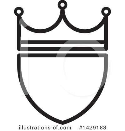 Crown Clipart #1429183 by Lal Perera