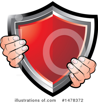Shield Clipart #1478372 by Lal Perera