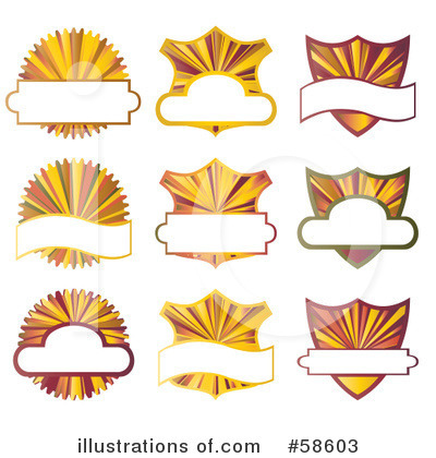 Banners Clipart #58603 by MilsiArt