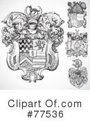 Royalty-Free (RF) Shield Clipart Illustration #77536