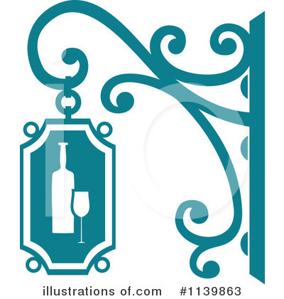 Winery Clipart #1139863 by Vector Tradition SM