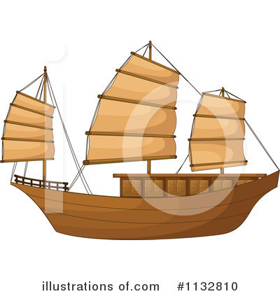 Boat Clipart #1132810 by Graphics RF