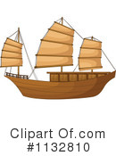 Royalty-Free (RF) Ship Clipart Illustration #1132810