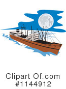Ship Clipart #1144912 by patrimonio