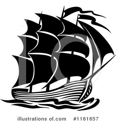 Ship Clipart #1161657 by Vector Tradition SM