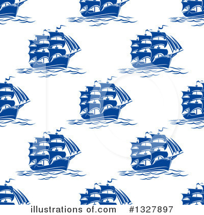 Sailboat Clipart #1327897 by Vector Tradition SM