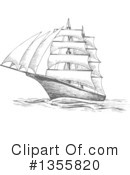 Ship Clipart #1355820 by Vector Tradition SM