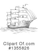 Ship Clipart #1355826 by Vector Tradition SM