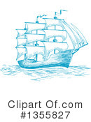 Ship Clipart #1355827 by Vector Tradition SM