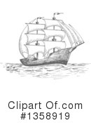 Ship Clipart #1358919 by Vector Tradition SM