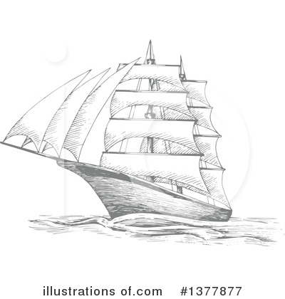 Ship Clipart #1377877 by Vector Tradition SM