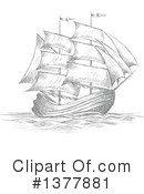 Ship Clipart #1377881 by Vector Tradition SM