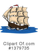 Ship Clipart #1379735 by Vector Tradition SM