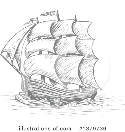 Ship Clipart #1379736 by Vector Tradition SM