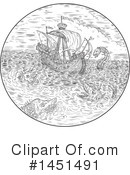 Ship Clipart #1451491 by patrimonio
