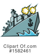 Ship Clipart #1582461 by patrimonio