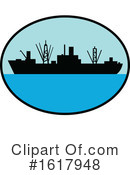 Ship Clipart #1617948 by patrimonio