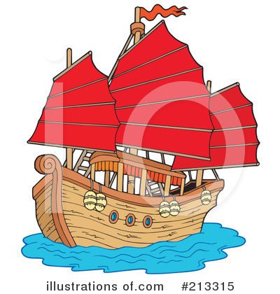 Ship Clipart #213315 by visekart