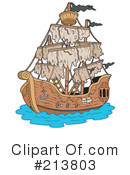 Ship Clipart #213803 by visekart