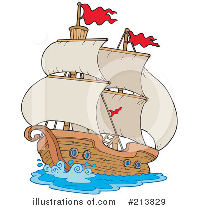 Ship Clipart #213829 by visekart