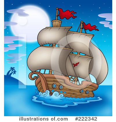 Ship Clipart #222342 by visekart