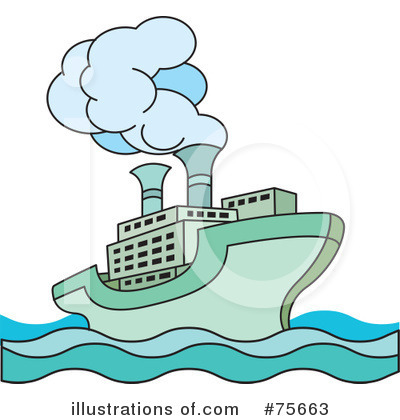 Cruise Ship Clipart #75663 by Lal Perera