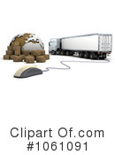 Shipping Clipart #1061091 by KJ Pargeter