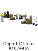 Shipping Clipart #1074469 by KJ Pargeter