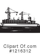 Shipping Clipart #1216312 by xunantunich
