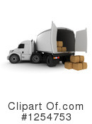Shipping Clipart #1254753 by KJ Pargeter