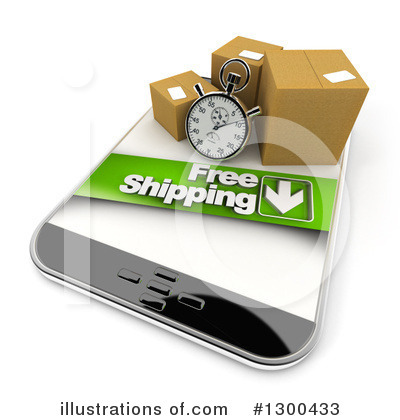 Royalty-Free (RF) Shipping Clipart Illustration by Frank Boston - Stock Sample #1300433
