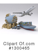 Shipping Clipart #1300465 by Frank Boston