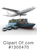 Shipping Clipart #1300470 by Frank Boston