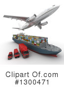 Shipping Clipart #1300471 by Frank Boston