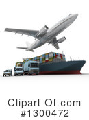 Shipping Clipart #1300472 by Frank Boston