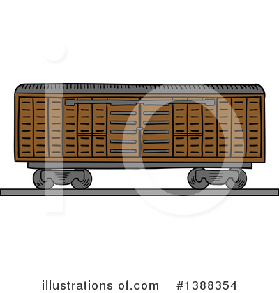 Shipping Clipart #1388354 by Vector Tradition SM