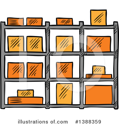 Shipping Clipart #1388359 by Vector Tradition SM