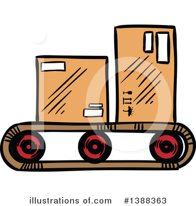 Shipping Clipart #1388363 by Vector Tradition SM