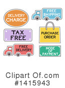 Shipping Clipart #1415943 by BNP Design Studio