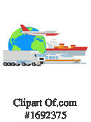 Shipping Clipart #1692375 by AtStockIllustration